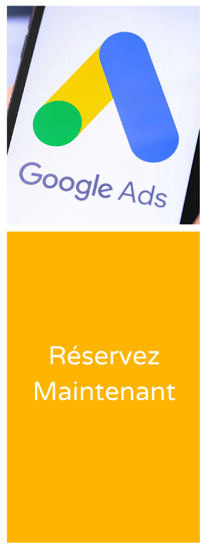 Bannière service Google Ads