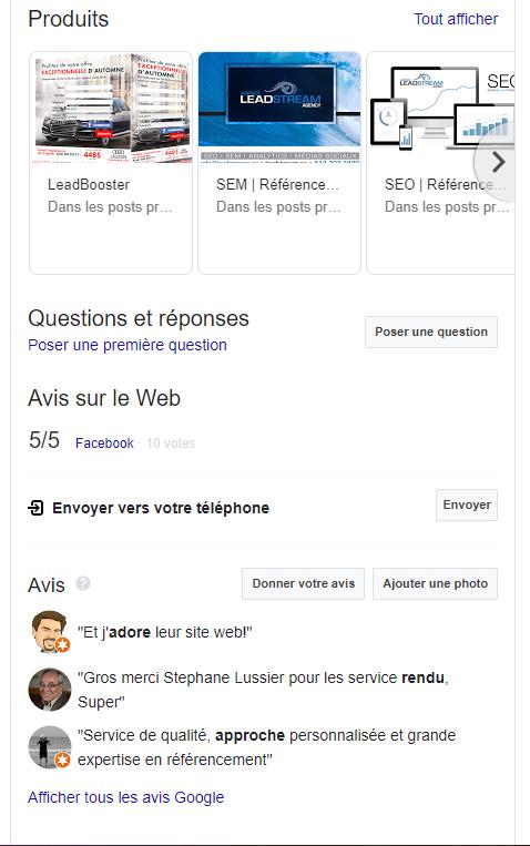 Google Mon Entreprise est il un bon outil de référencement