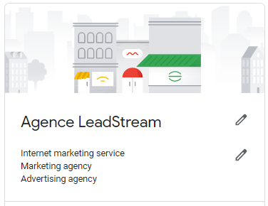 Agence LeadStream profil on GMB
