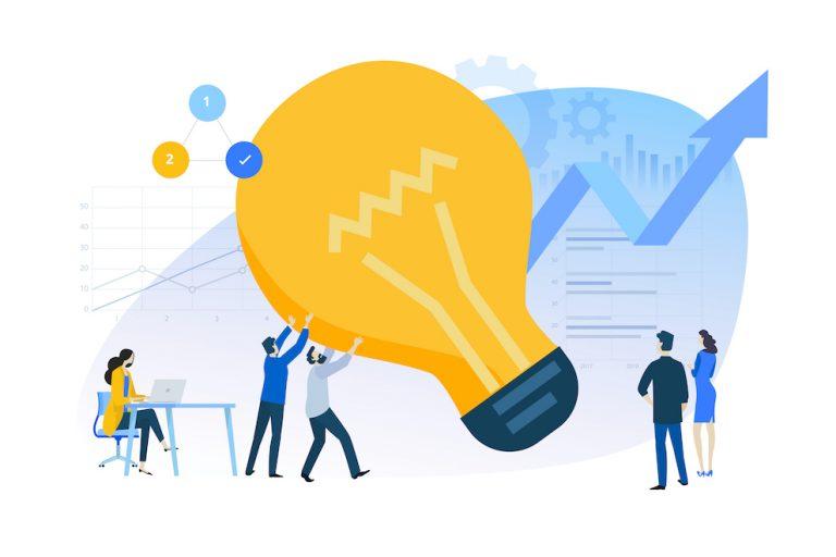 Illustration Vecteur pour bannière de site Web, matériel marketing, présentation d'entreprise et la publicité en ligne