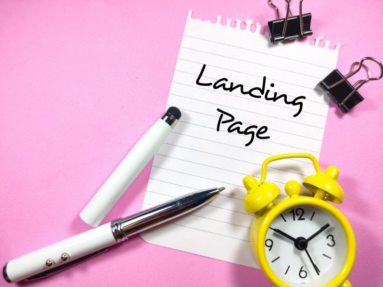 what is a good landing page