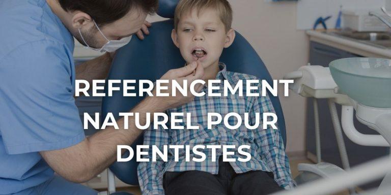 image de présentation du référencement naturel pour les dentistes